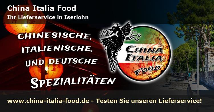 China Italia Food Lieferservice in Iserlohn